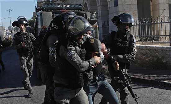 الشرطة الإسرائيلية تعتقل 11 فلسطينيا داخل الخط الأخضر