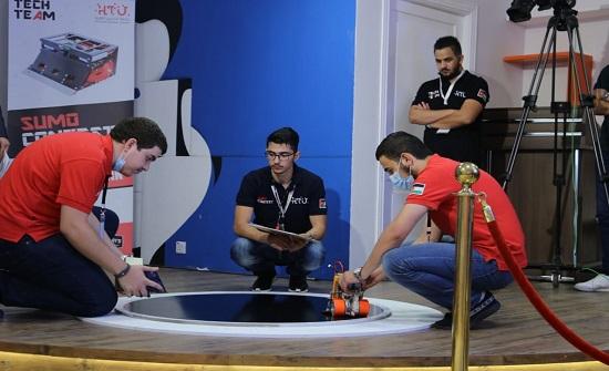 جامعة الحسين التقنية تقيم أول تحدٍ لروبوتات السومو