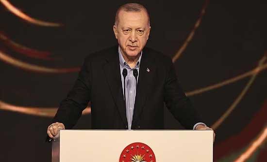 أردوغان: لنجعل الطاقة شرقي المتوسط محور تعاون لا صراع
