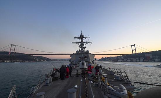 مناورات عسكرية بالبحر الأسود تضم أمريكا وأوكرانيا وتركيا