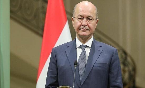 الرئيس العراقي يستقبل سفير المملكة لدى العراق