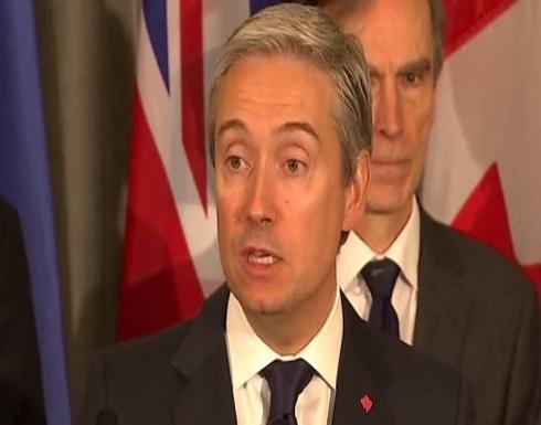"""كندا: على إيران تحمل مسؤوليتها إزاء أهالي """"الأوكرانية"""""""