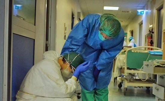 نسبة الاشغال في المستشفيات لمرضى كورونا حسب الاقاليم