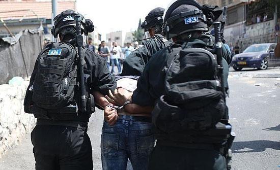 الاحتلال الاسرائيلي يعتقل 15 فلسطينيا بالضفة الغربية