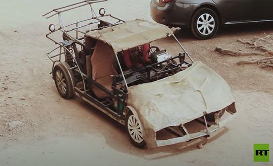 فيديو: نيجيري يجمع سيارة من قطع الخـردة القديمة