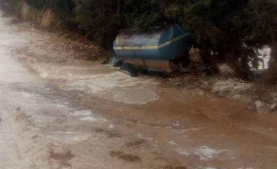 الأغوار الشمالية: فتح مجاري الأودية والعبارات تحسباً لتشكل السيول