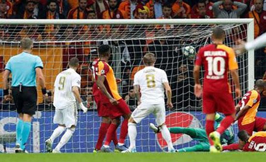 ريال مدريد يعود بفوز ثمين من ميدان غلطة سراي (شاهد)