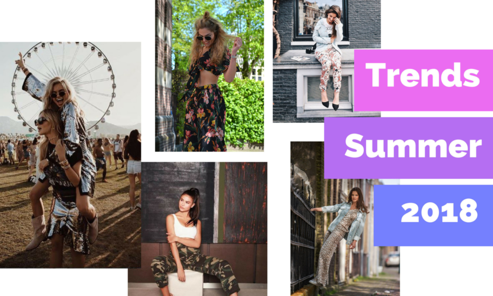 Fashion trends zomer 2018