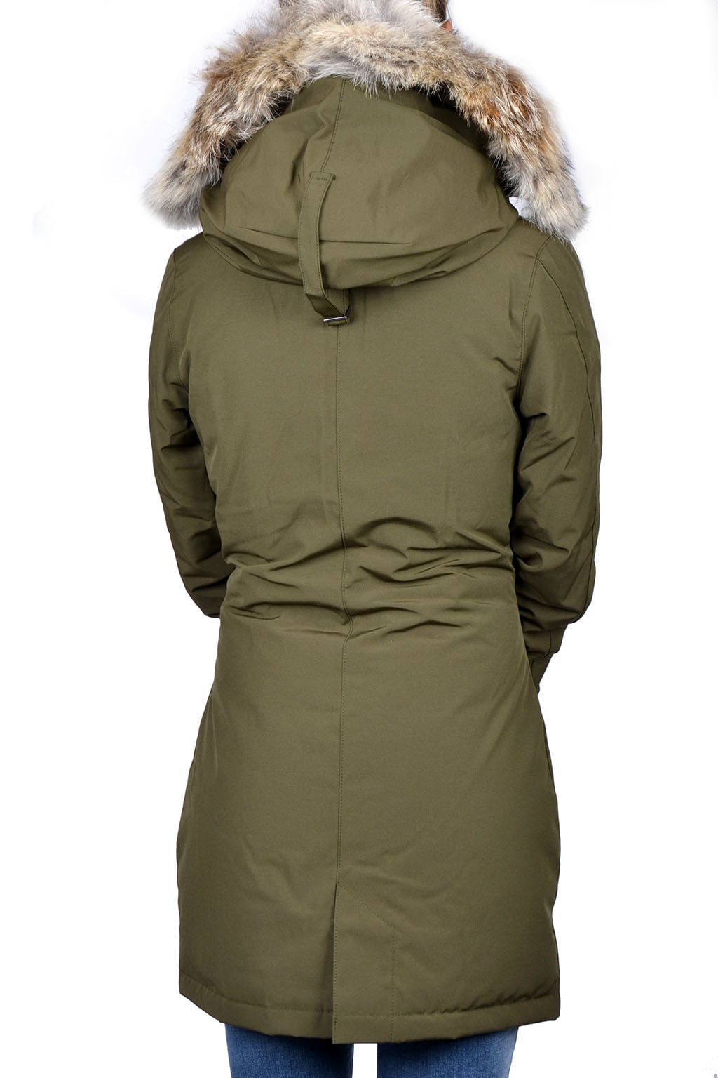 lekker goedkoop groot assortiment verkoop usa online Ladies victoria parka military green 015 - XS - Ladies victoria parka  military green 015