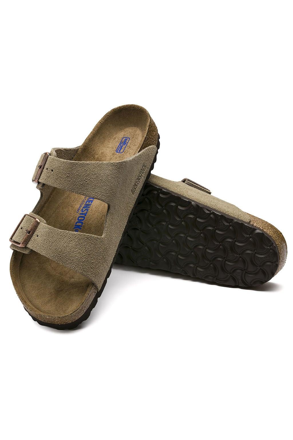 Birkenstock arizona sandalen smal taupe 36 Birkenstock arizona sandalen smal taupe