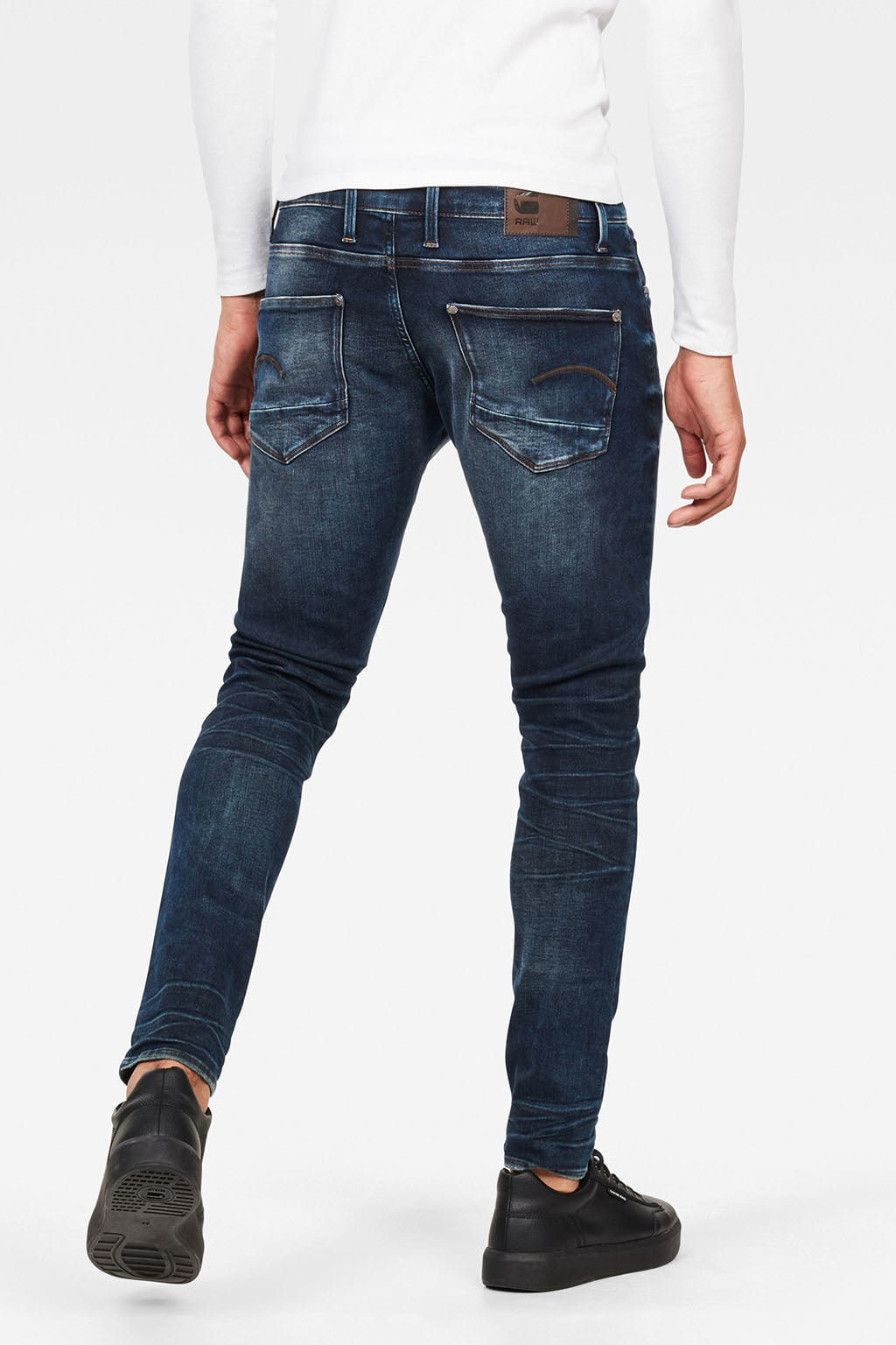 Revend Skinny Jeans | Dark Aged | Men | G Star RAW®