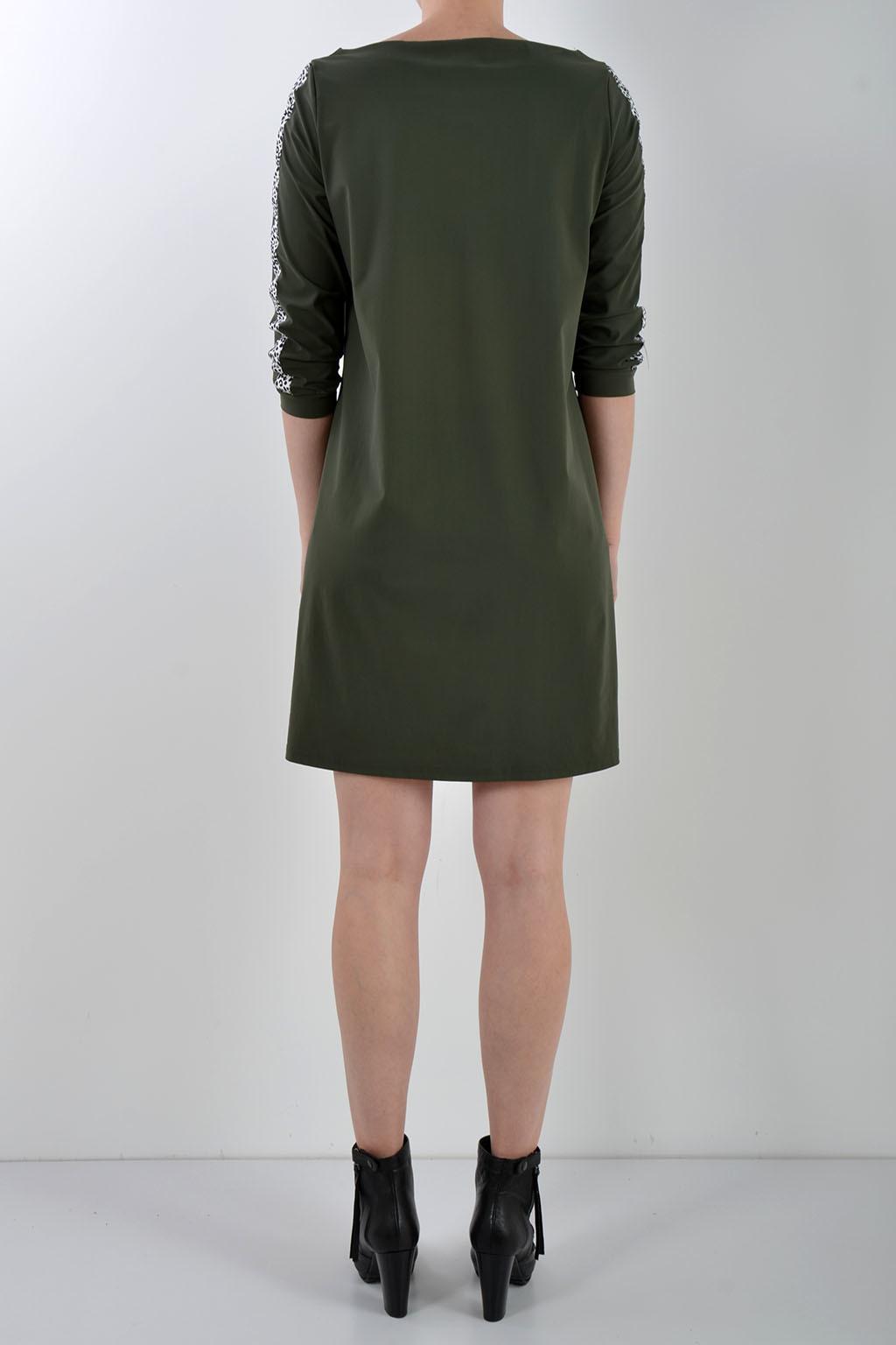 ec1597158b3977 ... Studio anneloes flex tape jurk groen - Studio Anneloes