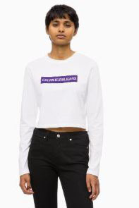 Calvin klein institutional box white purple - Calvin Klein