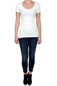 Off-white t-shirt women short sleeve