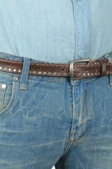 Belt leather 127/brown 08