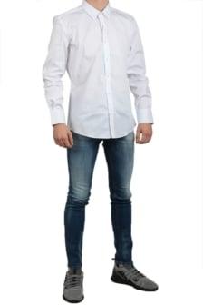 Antony morato shirt long sleeve white