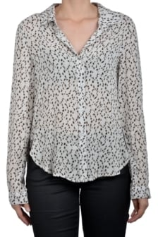 Bella dahl button down shirt animal
