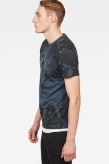 G-star raw bonded 3 t-shirt blue black