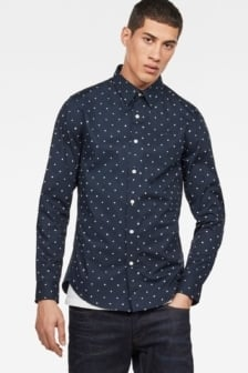 G-star raw core shirt mazarine blue