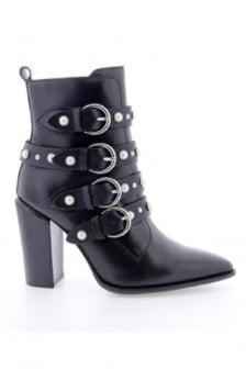 Bronx shoes ankleboot high black
