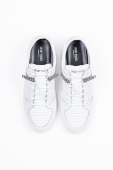 Antony morato zip sneaker white
