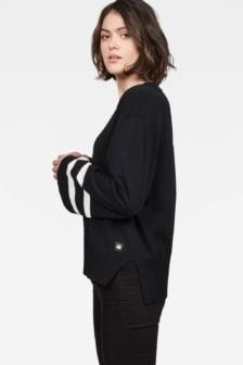 G-star raw flat knit black