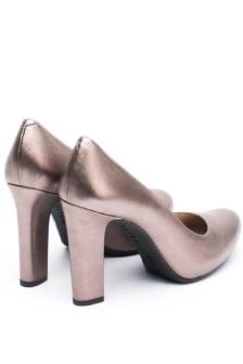 Unisa patric metallic high heel pump