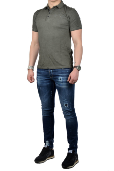 Antony morato polo t-shirt green