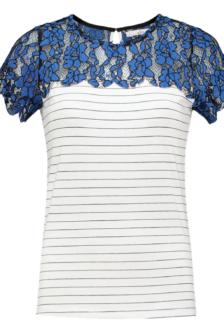 Aaiko fala t-shirt divine blue