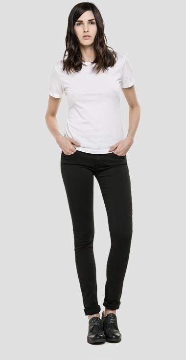 Replay luz hyperflex skinny jeans black - Replay