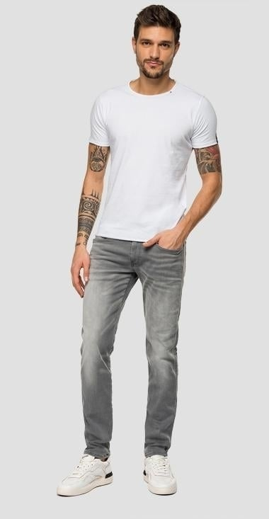 Replay slim fit anbass jeans grijs - Replay
