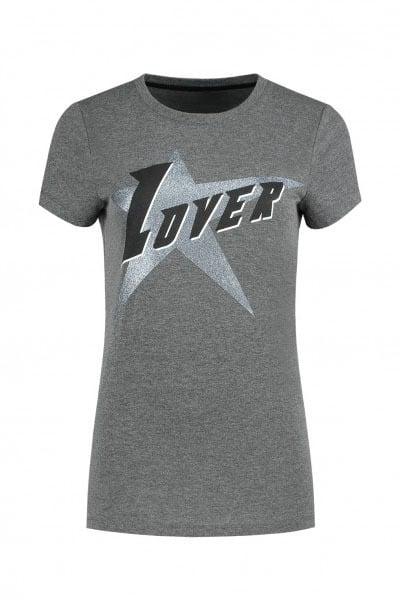 Nikkie by nikkie lover t-shirt grijs - Nikkie By Nikkie