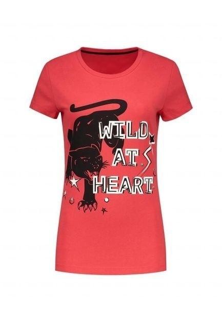 Nikkie wild at heart coral t-shirt - Nikkie By Nikkie