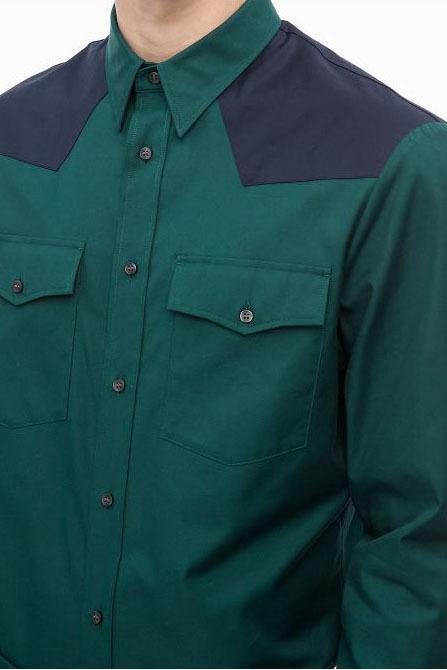 Calvin klein western solid twill green - Calvin Klein