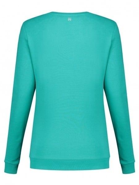 Nikkie by nikkie n logo glitter sweater groen - Nikkie By Nikkie