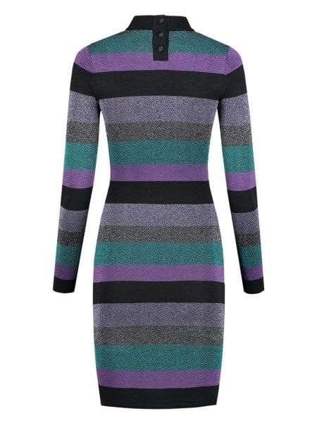 Nikkie paivi jurk multi stripe - Nikkie By Nikkie