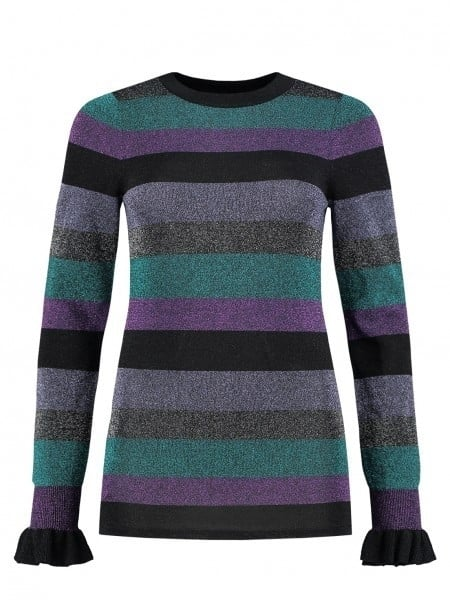 Nikkie paivi shirt multi stripes - Nikkie By Nikkie