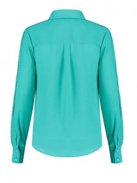 Nikkie sara basic blouse groen - Nikkie By Nikkie