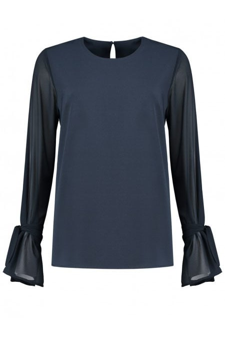Fifth house rima top donker blauw - Fifth House