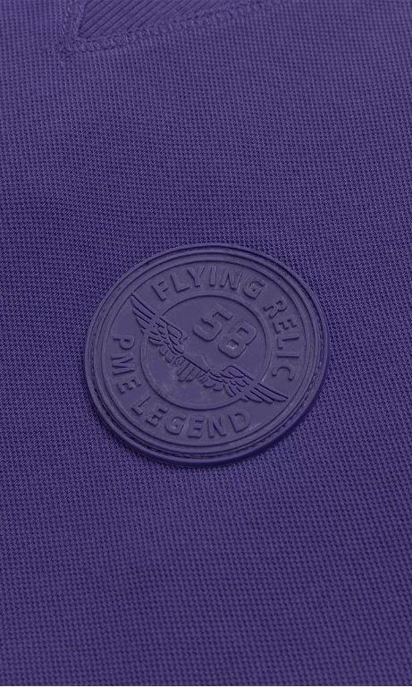 Pme legend long sleeve r-neck sleek pique - Pme Legend