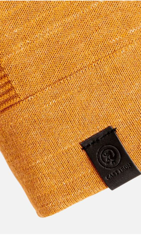 Cast iron roll neck melange - Cast Iron