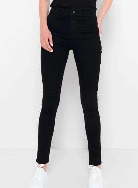 Saint tropez high waist jeans zwart - Saint Tropez