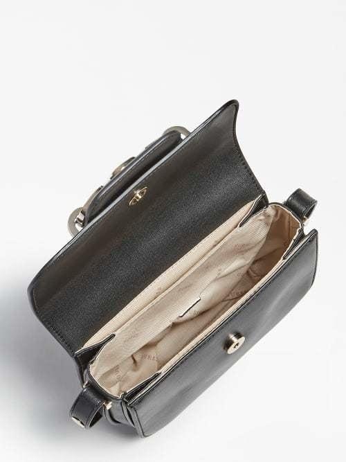 Guess hensely mini bag zwart - Guess Accessoires