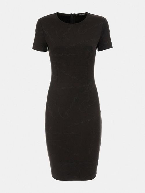 Guess rhoda jurk zwart - Guess