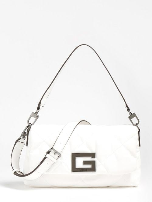 Guess brightside schoudertas wit - Guess Accessoires