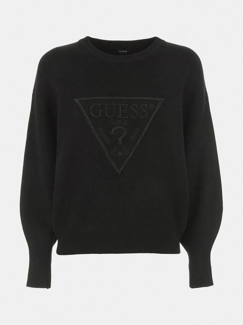 Guess lily sweater jet black - Guess