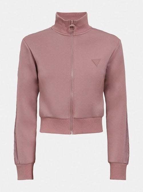 Guess scuba full zip jacket rose chai - Guess