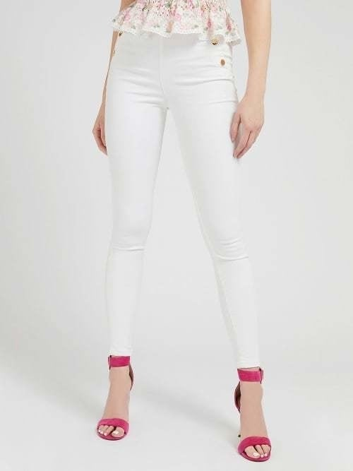 Guess ultra curve high button jeans wit - Guess