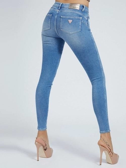 Guess ultra curve jeans blauw - Guess