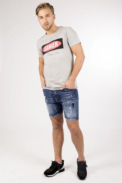 My brand danger t-shirt grijs - My Brand